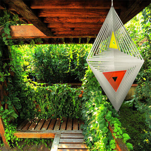 Campane a vento di design Yin Yang